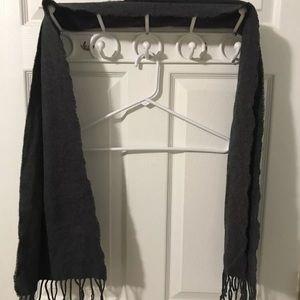 J Crew scarf gray NWT
